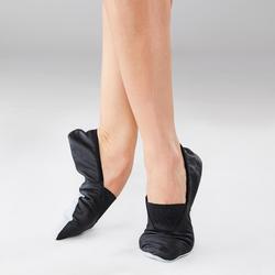 Chaussons de danse moderne-jazz en cuir souple adultes T41-42