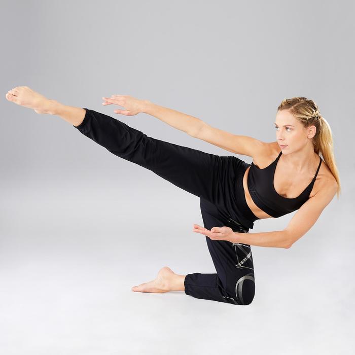 Pantalon fluide et modulable danse moderne femme noir