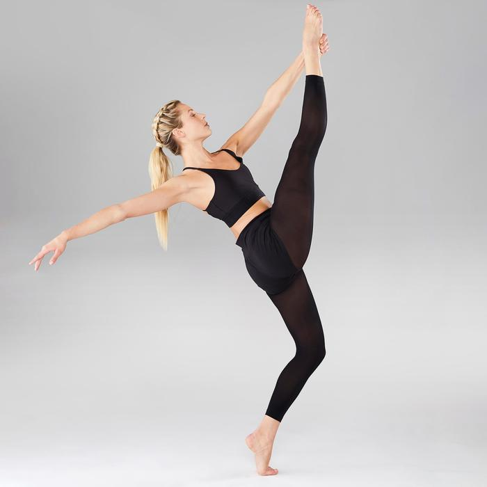 Short voor moderne dans dames zwart aansluitend
