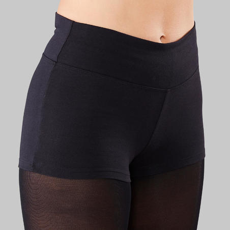 Fitted Modern Dance Shorts – Women