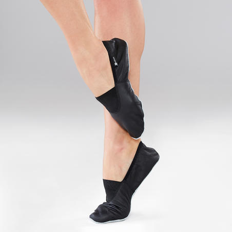 Flexible Leather Modern Jazz Dance Shoes - Adults