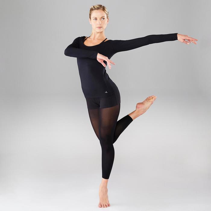 Langarm-Tanzshirt Damen