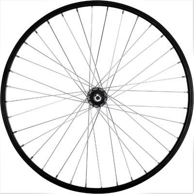 "Wheel 26"" Rear Single-Walled V-brake Freewheel - Black"