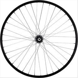 """MTB achterwiel 26"""" enkelwandige V-brake met freewheel zwart"""