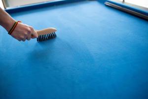 Comment nettoyer son tapis de billard