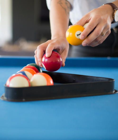 Composition bille de billard decathlon