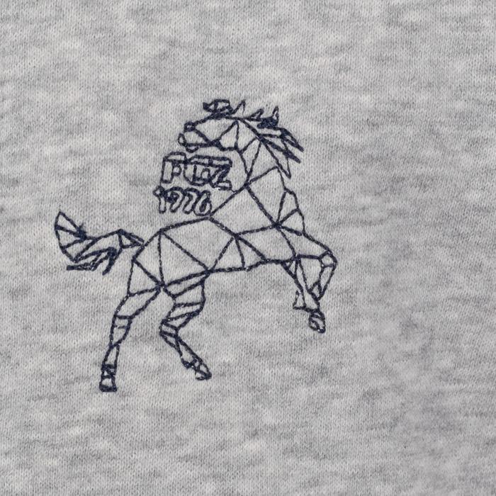 Sweat equitation enfant HORSE chiné - 169969