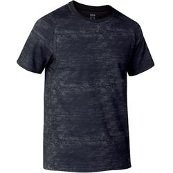Camiseta 540 Free Move Gimnasia hombre gris oscuro estampado