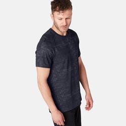 T-Shirt 540 Free Move Gym Herren dunkelgrau mit Print
