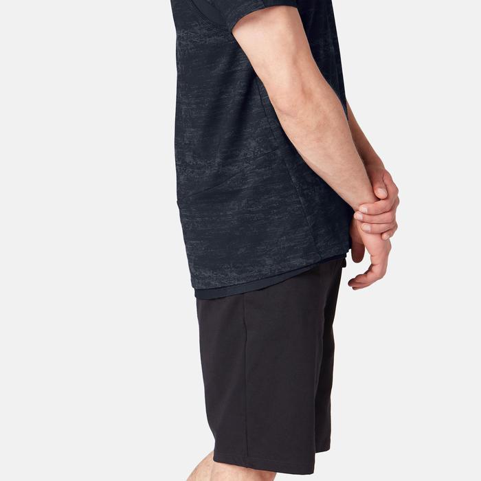 T-Shirt homme 540 Free Move gris foncé printé