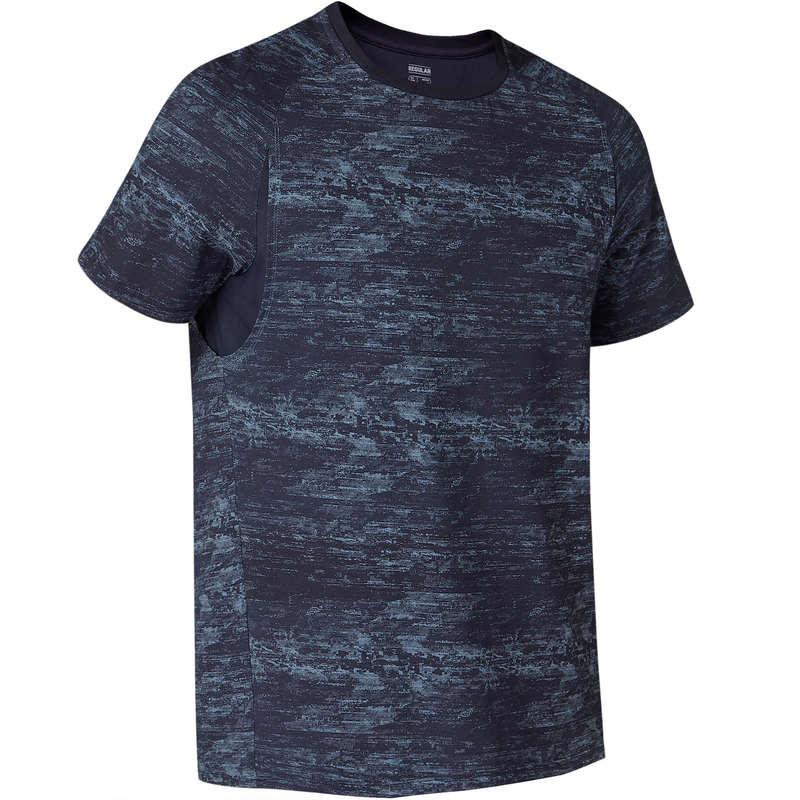 MAN GYM, PILATES APPAREL Clothing - 540 FM Gym T-Shirt - Navy Blue NYAMBA - Clothing
