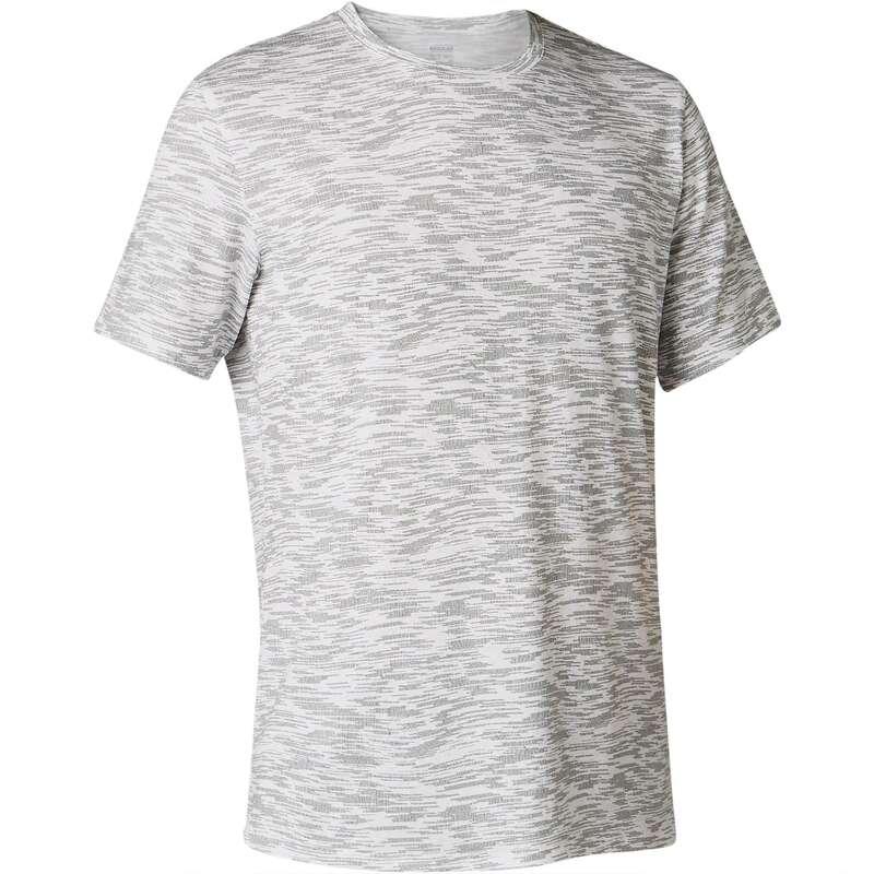 MAN GYM, PILATES APPAREL Clothing - 500 Regular Gym T-Shirt White NYAMBA - Tops
