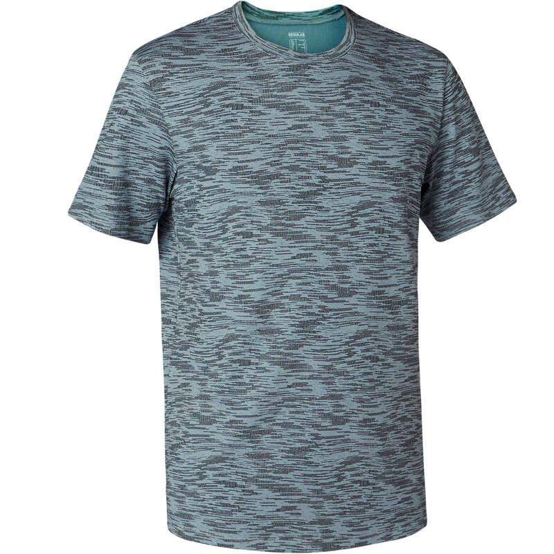 T-SHIRT E SHORT UOMO Ginnastica, Pilates - T-shirt uomo gym 500 grigia NYAMBA - Abbigliamento uomo