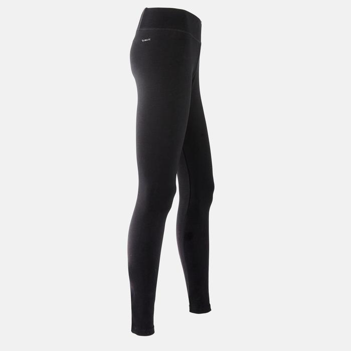Dameslegging slim fit zwart