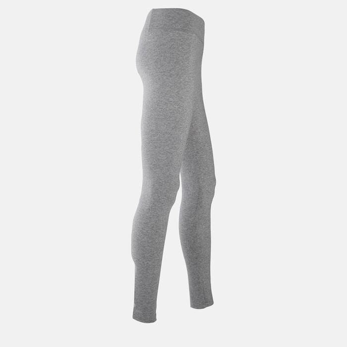Leggings Slim Damen grau