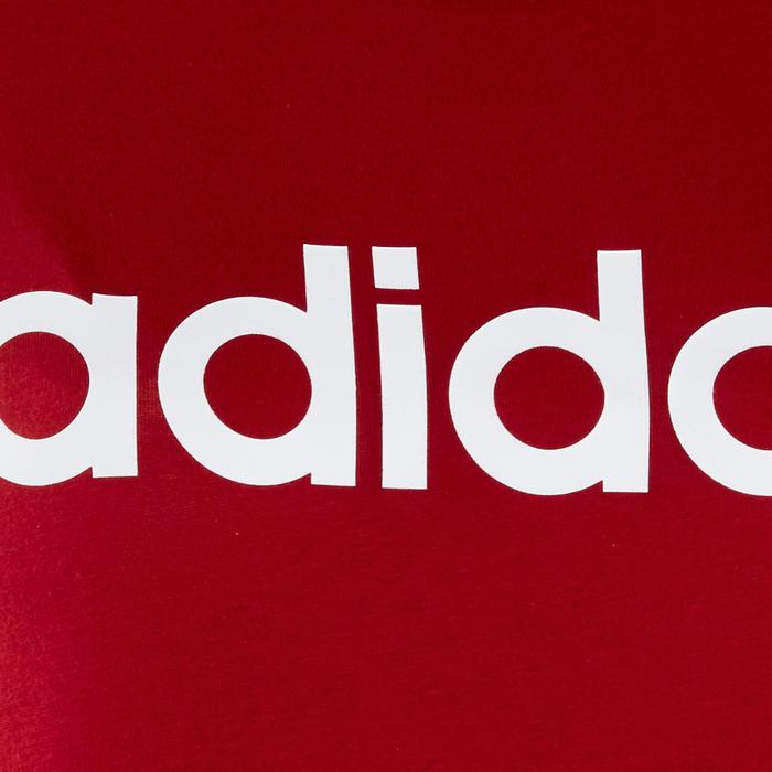 T-Shirt Adidas slim femme rouge