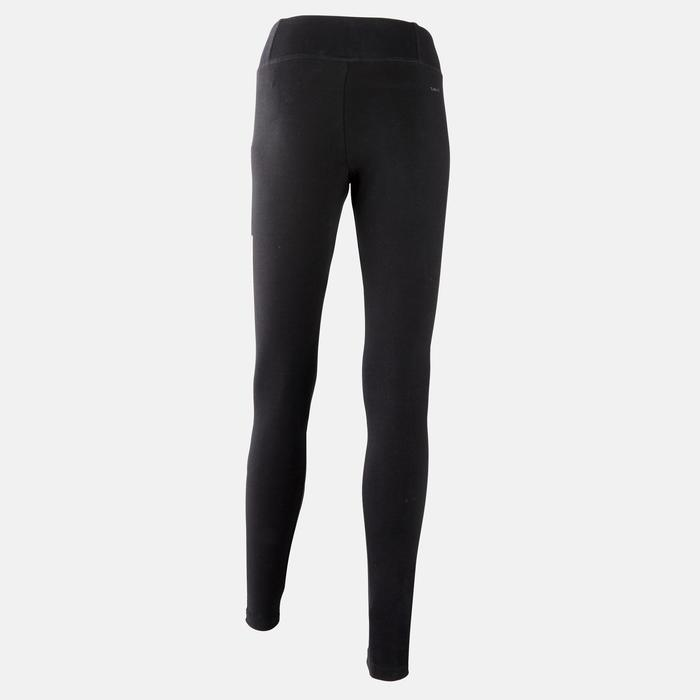 Leggings Slim Damen schwarz
