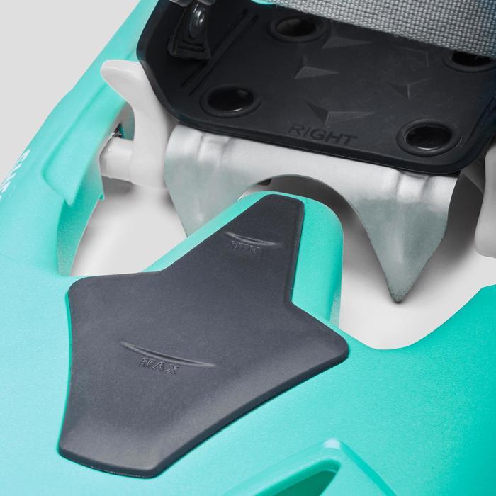 Raquettes à neige SH500 vert turquoise