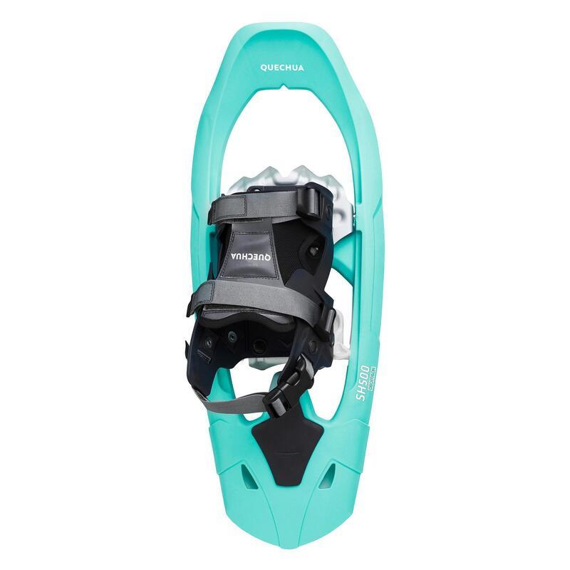 Sneeuwschoenen voor wandelen SH500 middelgroot frame groen