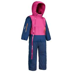 Babies skiing/sledging suit xwarm pull'n fit - purple