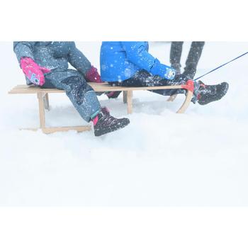 Winterschuhe halbhoch SH100 Warm Klett Kleinkinder Gr. 24-32 rosa