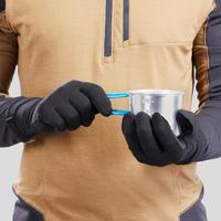 Sous-gants randonnée montagne RANDO 500 laine adulte