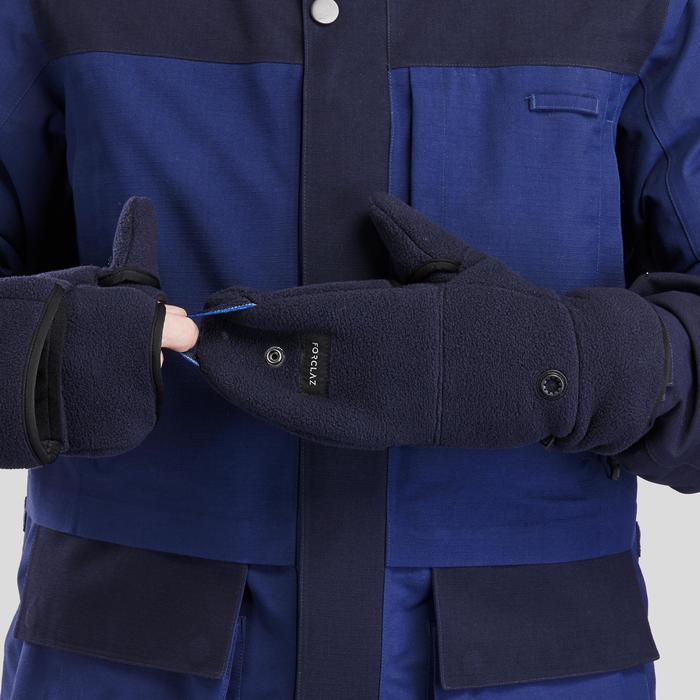 3-in-1-Fäustlinge Trekking Arctic 900 extra warm Komfort bis -30 °C Erwachsene