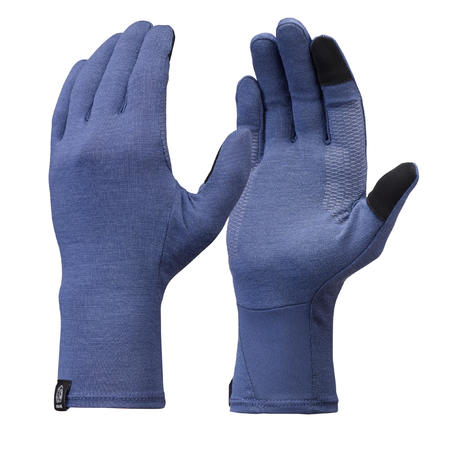 Adult Mountain Trekking Liner Gloves Trek 500