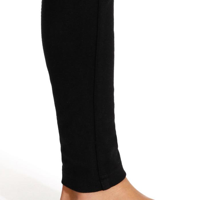 Pantalon équitation enfant FULLSEAT noir et - 170009