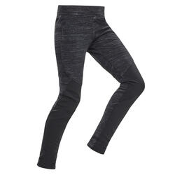 CHILDREN'S HIKING LEGGINGS SH100 WARM - 7-15 YEARS