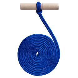 Puxa-Trenó de Madeira Azul