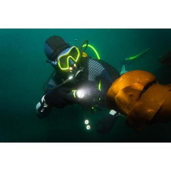 雙燈泡充電潛水手電筒SCD 400流明(2,700 lux)