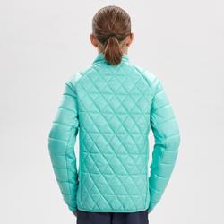 Veste chaude imperméable de randonnée neige SH500 X-WARM 3en1 fille 8-14 ans