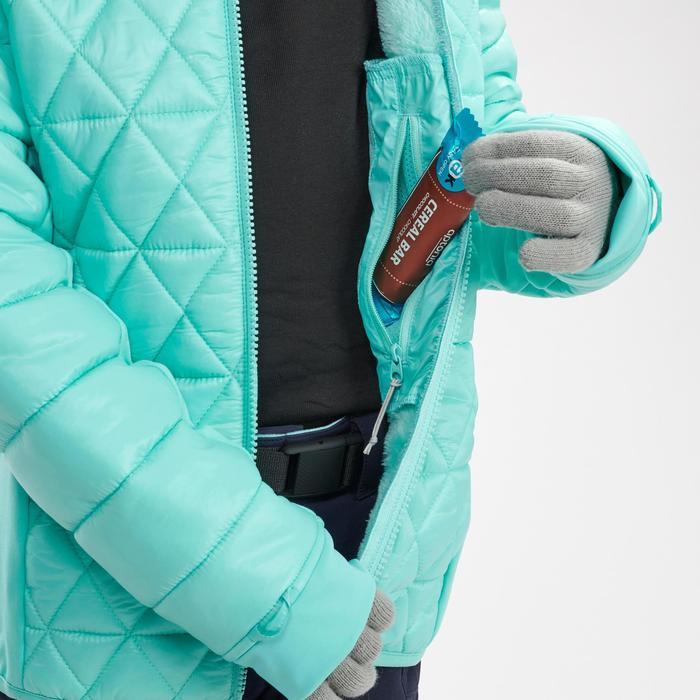 3-in-1-Jacke Winterwandern SH500 Extra-Warm Kinder Mädchen blau