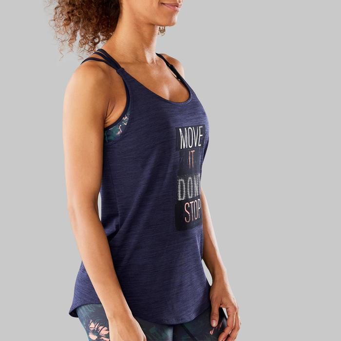 Topje voor dans-workouts dames