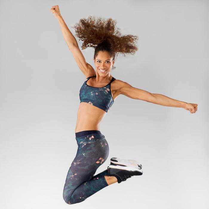 Brassière Fitness Dance femme corail