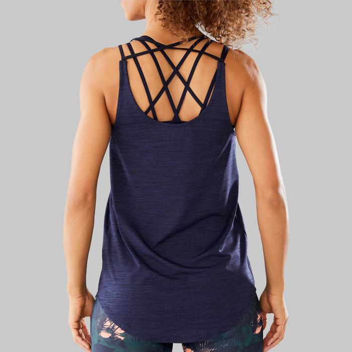 Sujetador-top Danza Fitness Azul Mujer