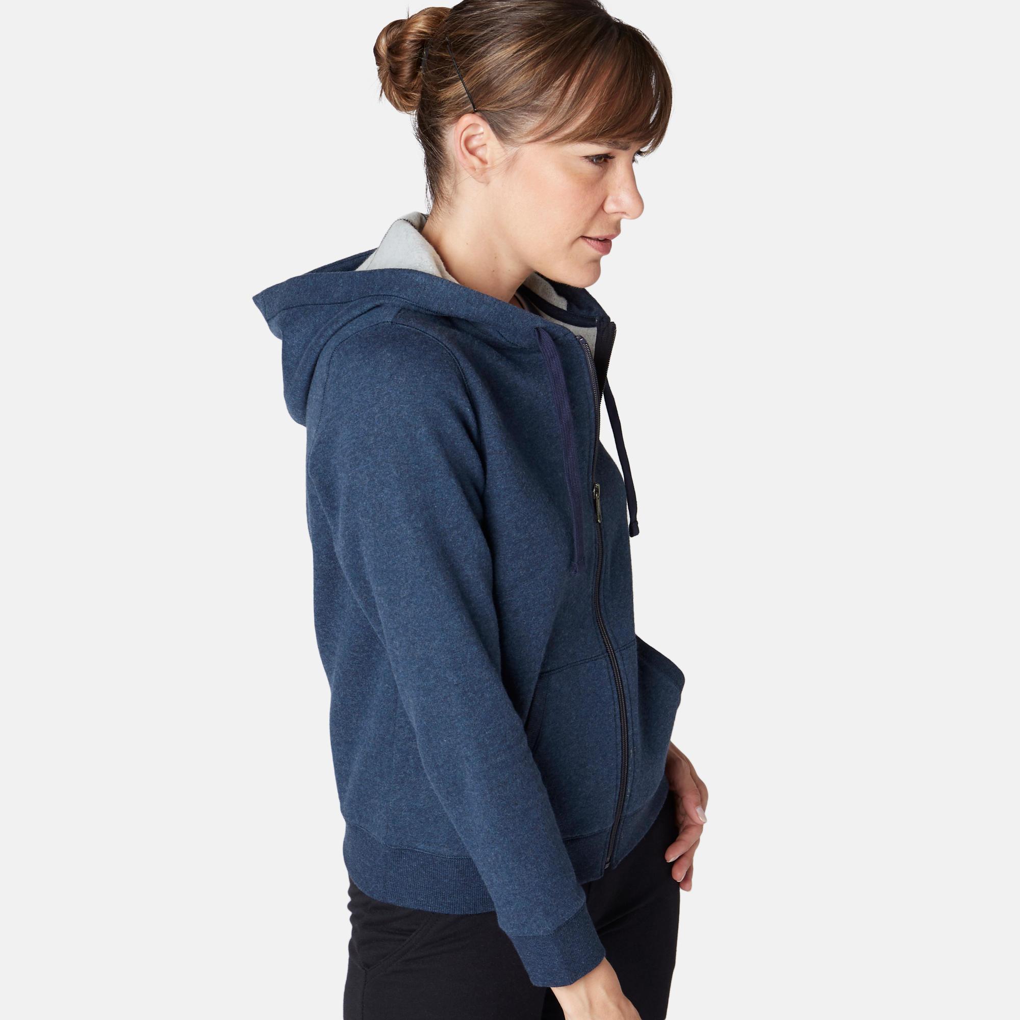 Jachetă cu glugă 520 Damă