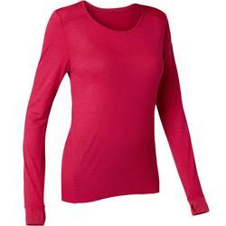 Langarmshirt 510 Pilates & sanfte Gymnastik Damen rot