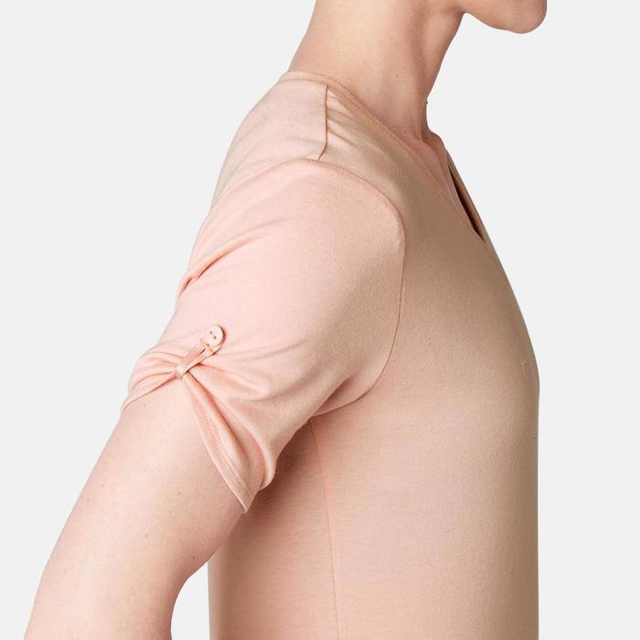 T-Shirt 510 regular Pilates Gym douce femme rose printé
