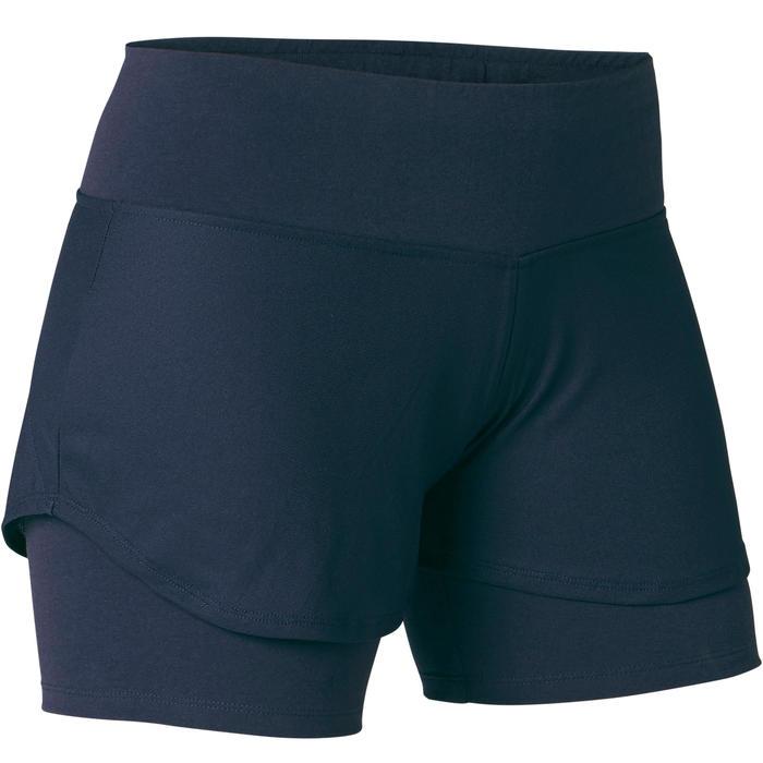 Short 2en1 520 Femme Bleu Marine