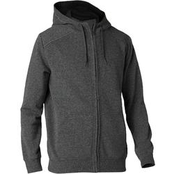 Men's Zip-Up Hooded Jacket 900 - Dark Grey