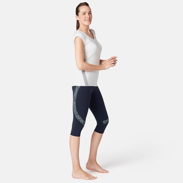 Corsaire 520 slim Fitness femme bleu marine
