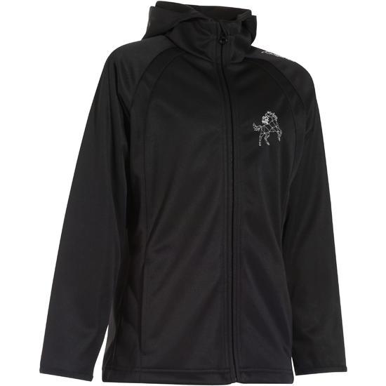 Softshell jas voor kinderen, ruitersport - 170087