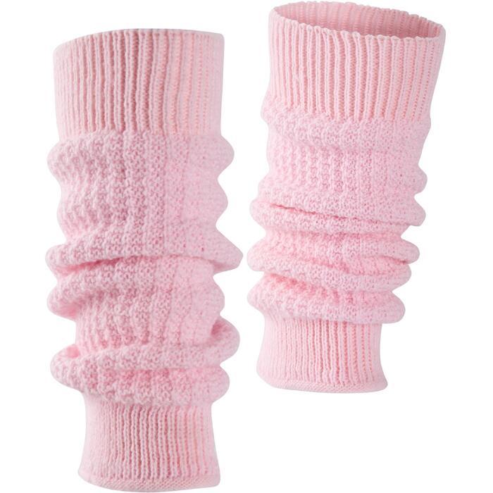 Beenwarmers voor ballet en moderne dans meisjes roze