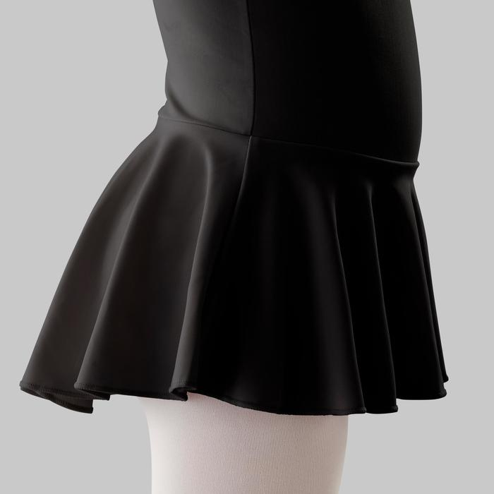 Tunika Ballett Mädchen schwarz