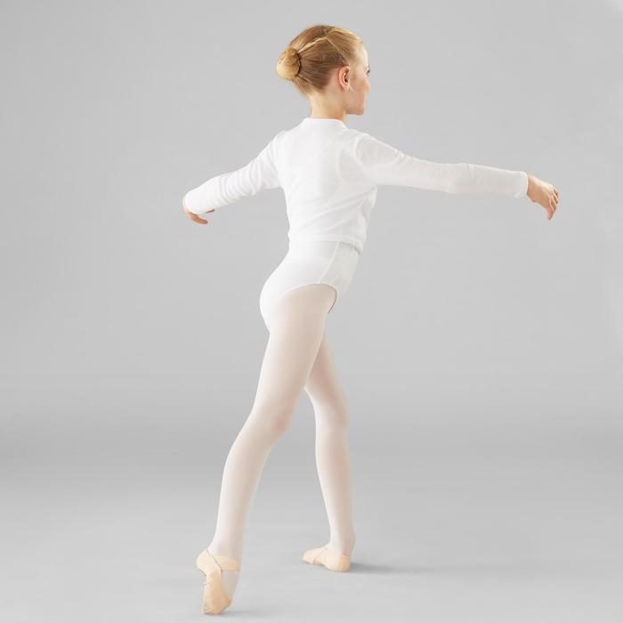 82afd72db Chaqueta Cruzada Ballet Domyos Niña Negra Domyos   Decathlon