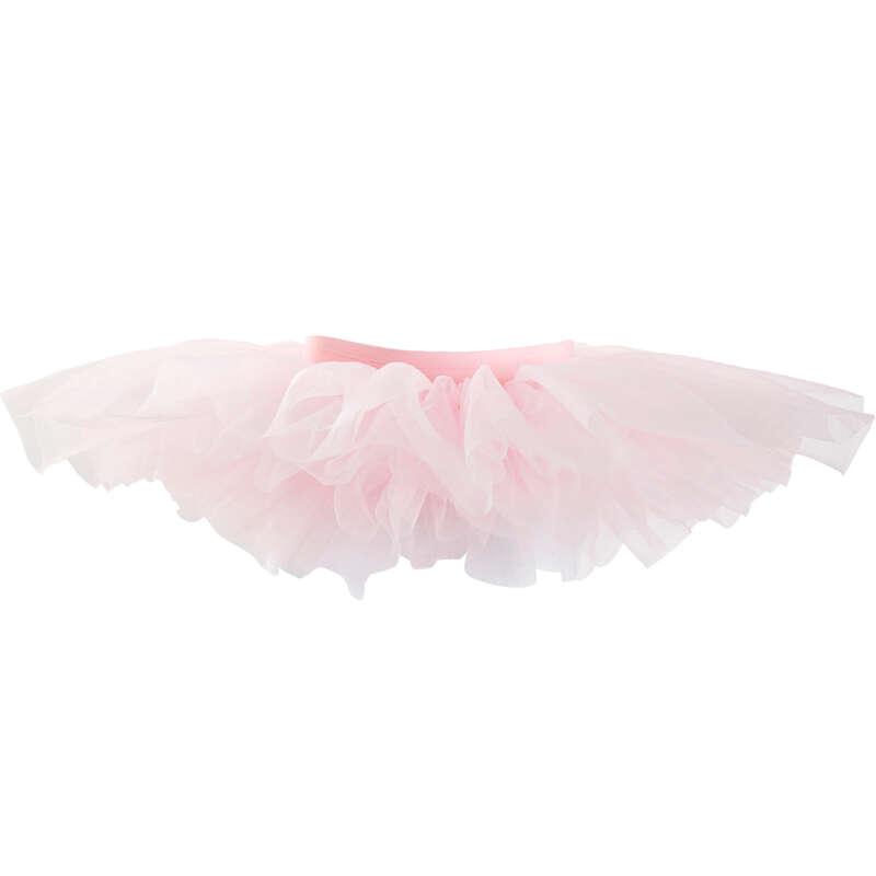 Lány klasszikus balett ruházat Tánc, torna, RG - Tüllszoknya baletthez DOMYOS - Balett