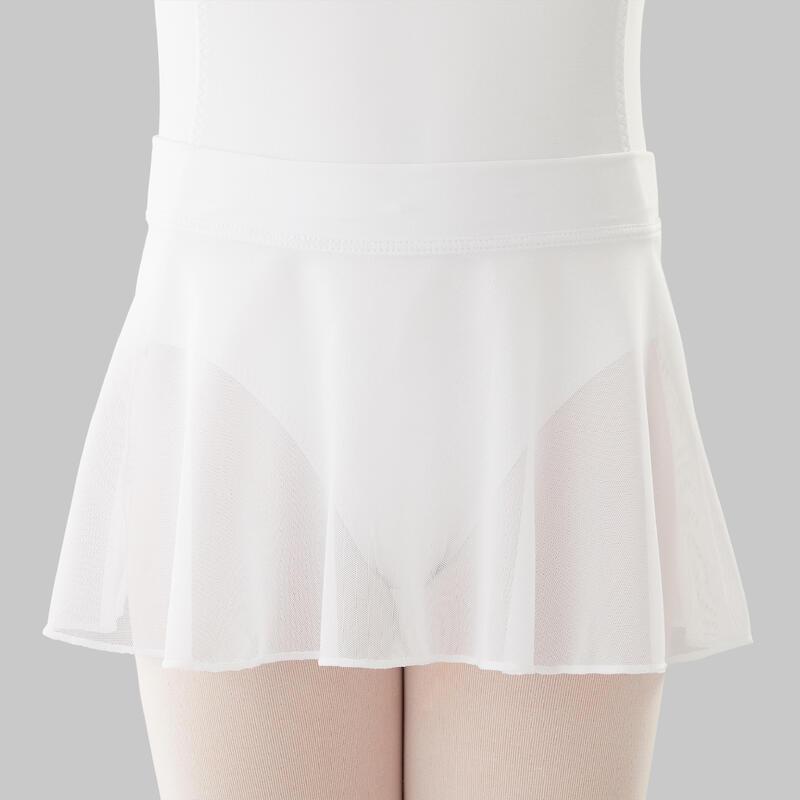 Gonnellino bambina danza classica bianco