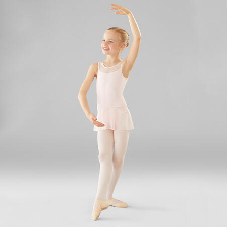 Mixed Media Ballet Leotard – Girls